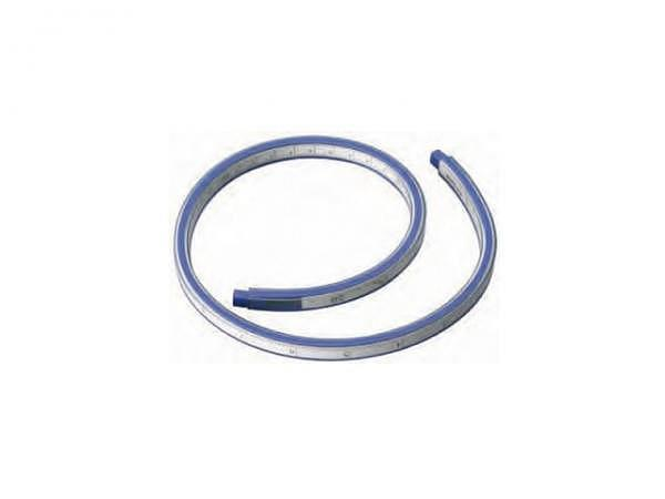 Kurvenlineal Alco 30cm mit Skala Millimeter, Tuschkante