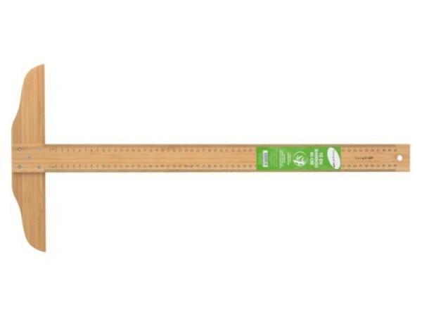 Reissschiene Holz 65cm bis zum Anschlag, Buchenholz natur