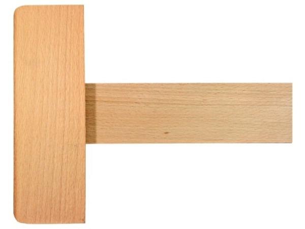 Reissschiene Holz 95cm bis zum Anschlag, Buchenholz natur