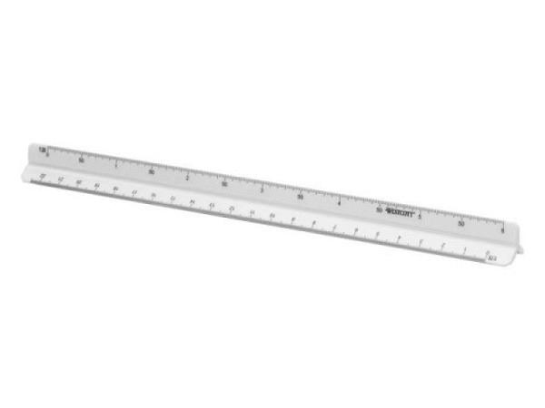 Reduktionsmassstab Rumold Vollholz braun 30cm