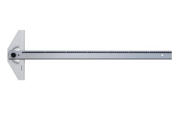 Reissschiene Rumold Aluminium mit verstellbarem Kopf, 70cm