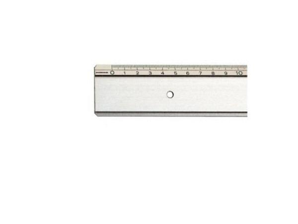 Massstab Rumold Aluminium 667 30cm, rutschfest, Tuschkante
