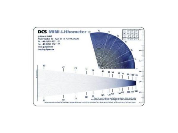 Lithometer DCS Mini Rasterweitenmesser von 20lpi bis 120lpi