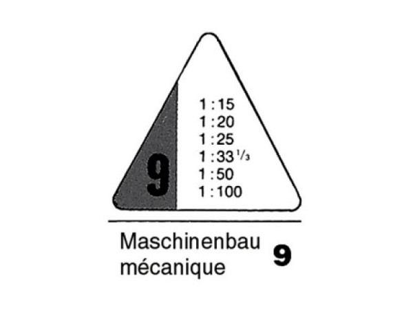 Reduktionsmassstab Rumold 9 Maschinenbau