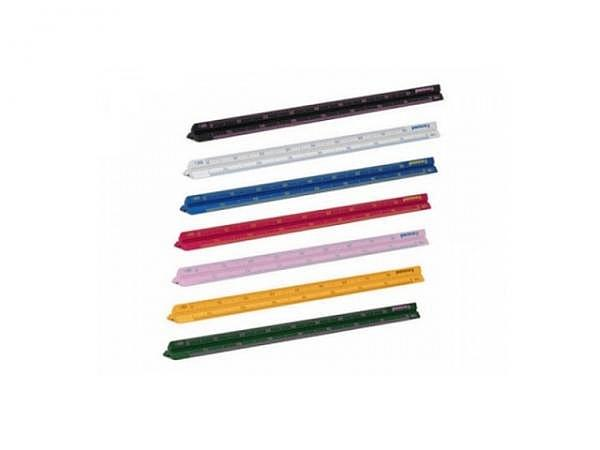 Reduktionsmasstab Penco 15cm lang silber