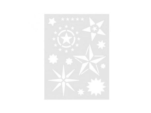Schablone Rico Design mittelgross Sterne in diversen Ausführungen
