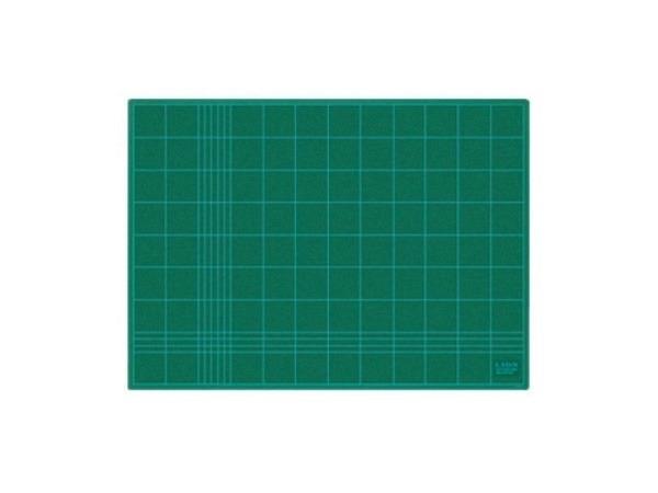 Schneidmatte Lion grün 45x62cm 3mm dick, mit 5cm-Netzdruck