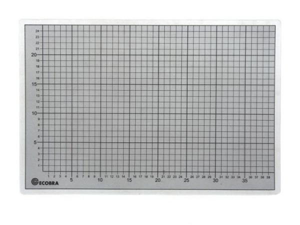 Schneidmatte Büroline 45x60cm transparent