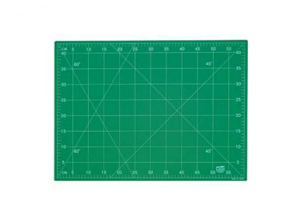 Schneidmatte Lion 90x120cm 3mm grün Kunststoff