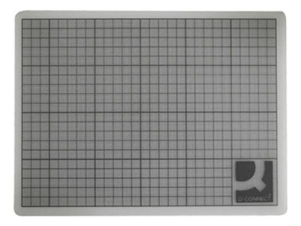 Schneidmatte Q-Connect transparent 45x60cm, 3mm dick