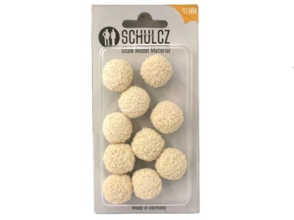 Schwammgummikugel weiss D: 20mm
