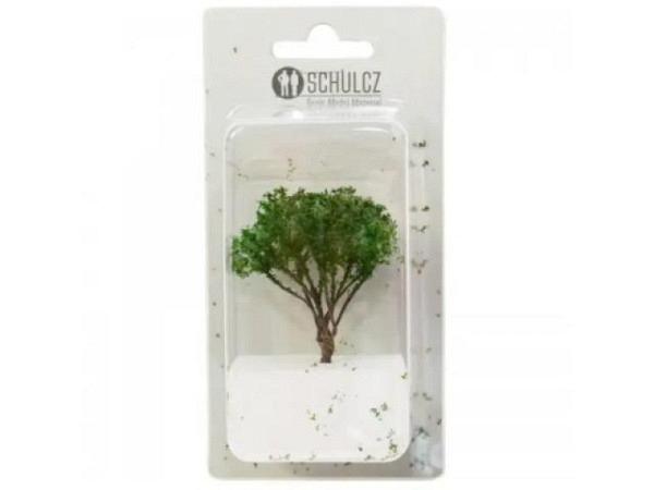Modellbaum Zypressen 25mm gedrehter Draht mit Sisalborsten