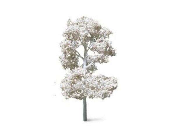 Modellbaum Laubbaum 50mm weiss, weisser Stamm