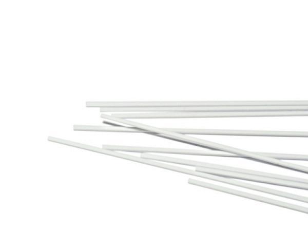 Profil eckig 10Stk weiss 0,25x0,5mm 35,6cm lang