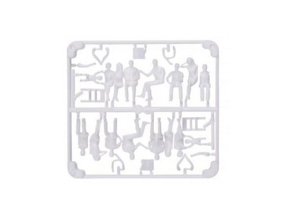 Figuren Detail 1:50 weiss 3x6 verschiedene Passante
