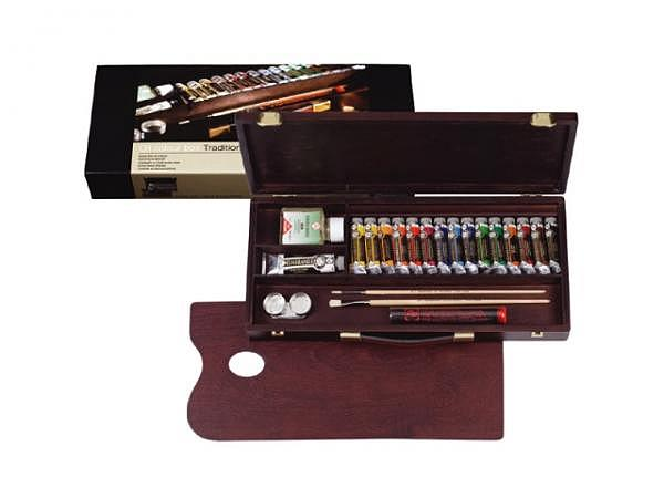 Oel Talens Rembrandt Set Holz Traditional