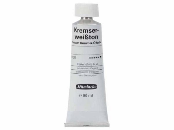 Oel Schmincke Kremserweisston 11108 35ml leicht warmes Weiss
