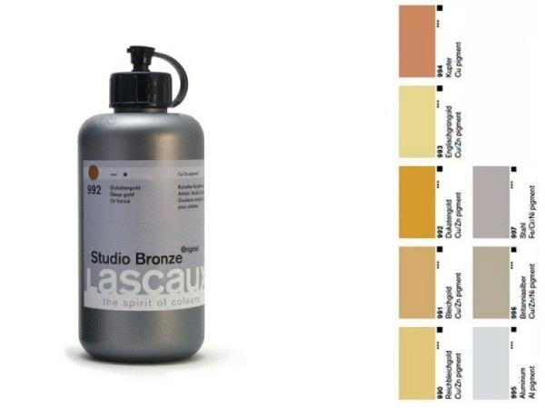 Akryl Lascaux Studio Bronze 250ml