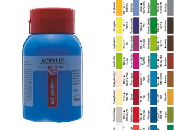 Akryl Talens ArtCreation Essentials 750ml