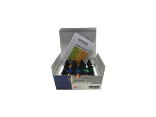 Akryl Lascaux Studio Set Karton 12Flaschen 85ml Malbox 3920