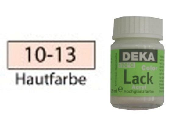 Akryl Deka Lack 25ml hautfarbe 10-13 volldeckender Lackglanz