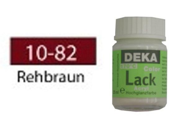 Akryl Deka Lack 25ml rehbraun 10-82 volldeckender  Lackglanz