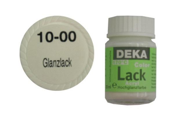 Akryl Deka Lack 25ml glanzlack 10-00, volldeckender Lackglan