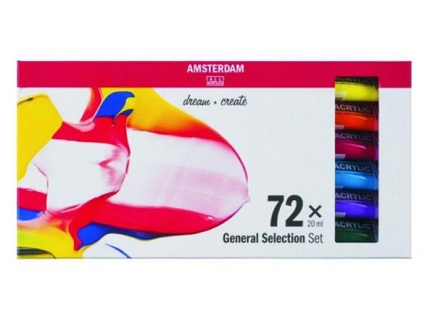 Akryl Talens Amsterdam Standard 72er Set 20ml