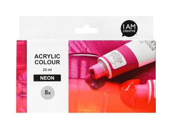Akryl Daler-Rowney Acrylic Paint Pot 10x38ml im Kessel