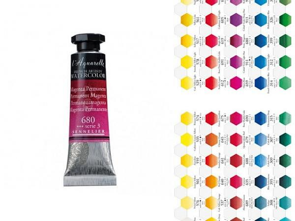 Aquarell Sennelier l'Aquarelle 10ml Tube