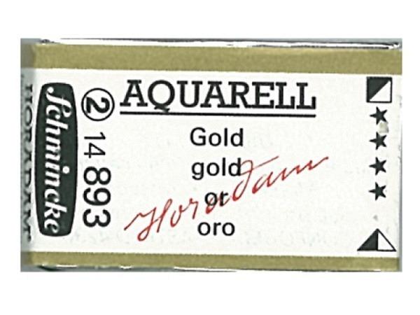 Aquarell Schmincke Horadam ganzer Napf gold 893