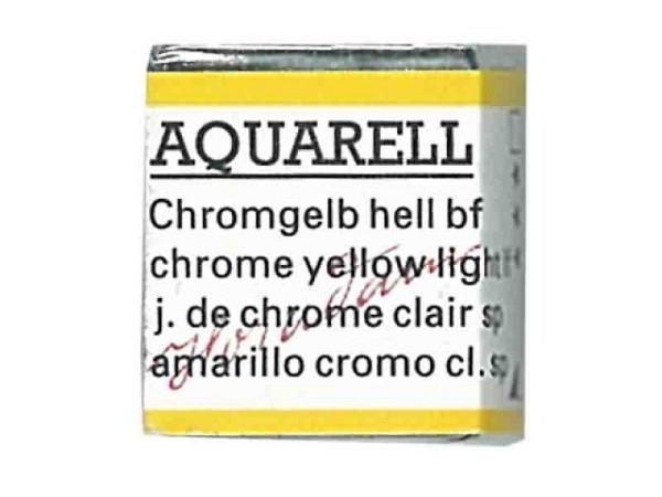 Aquarell Schmincke Horadam 1/2Napf chromgelb hell bleifr 212