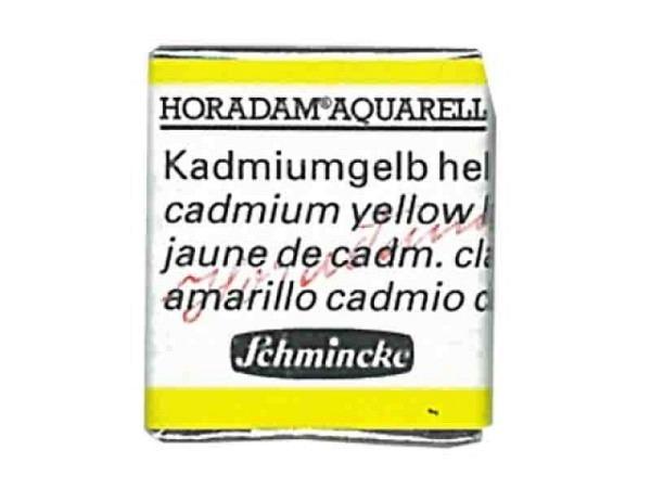 Aquarell Schmincke Horadam 1/2Napf kadmiumgelb hell 224