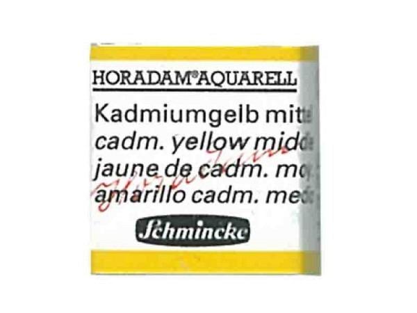 Aquarell Schmincke Horadam 1/2Napf kadmiumgelb mittel 225