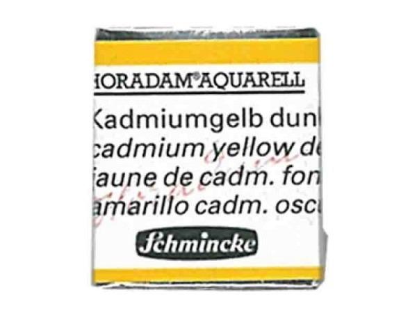 Aquarell Schmincke Horadam 1/2Napf kadmiumgelb dunkel 226