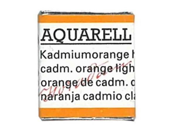 Aquarell Schmincke Horadam 1/2Napf kadmiumorange hell 227