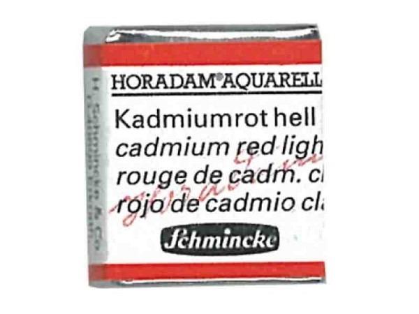 Aquarell Schmincke Horadam 1/2Napf kadmiumrot hell 349