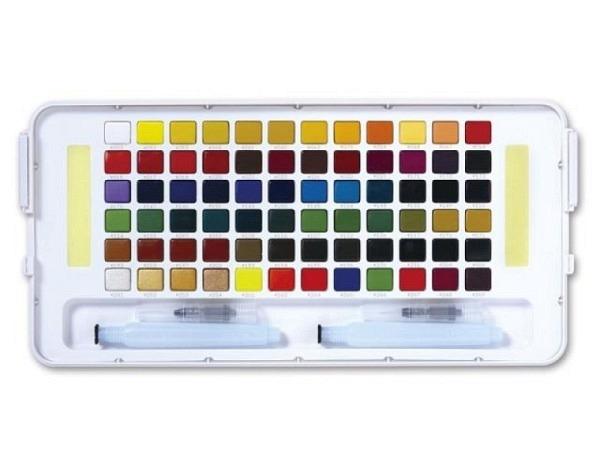 Aquarell Sakura Koi Water Colors General Selection 72er Set