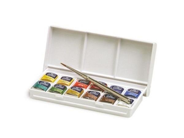 Aquarell Winsor Newton Cotman Set Sketchers Pocket Box 12