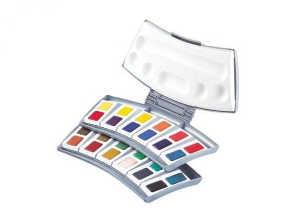 Aquarell Pelikan Studio 725D 24er Set in Kunststoffschachtel