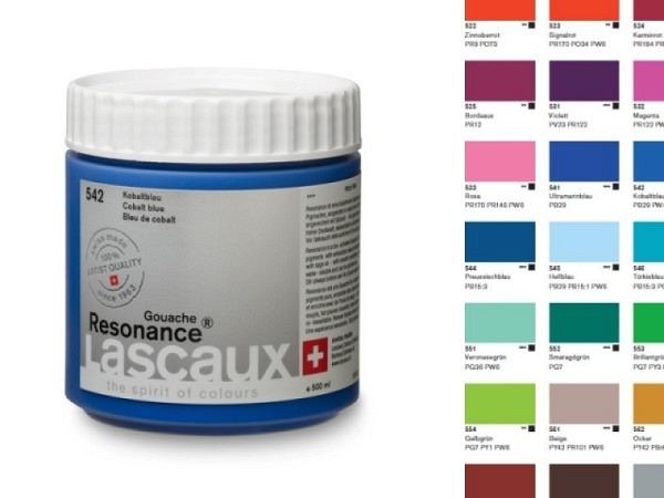 Gouache Lascaux Resonance 500ml