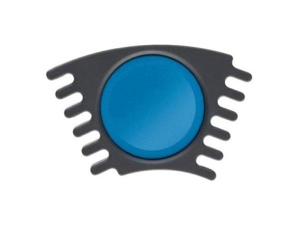 Gouache Faber-Castell Connector Napf cyan, ergiebige Deckfarbe mit h..