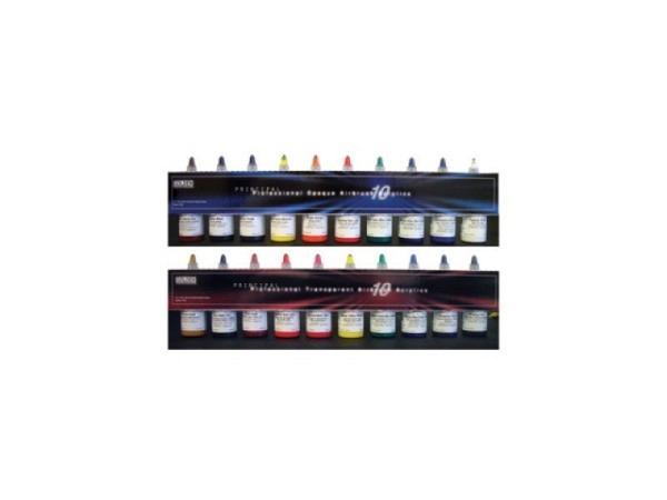 Airbrush Golden Set 10 Flaschen 30ml opake Farben