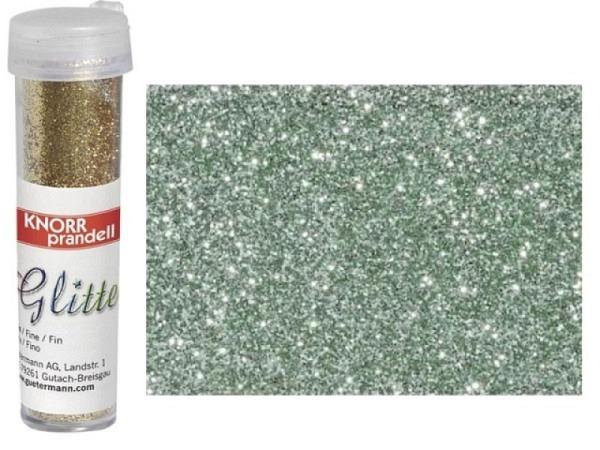 Glitter Knorr-Prandell Streuer 7g mint, feiner Glimmer