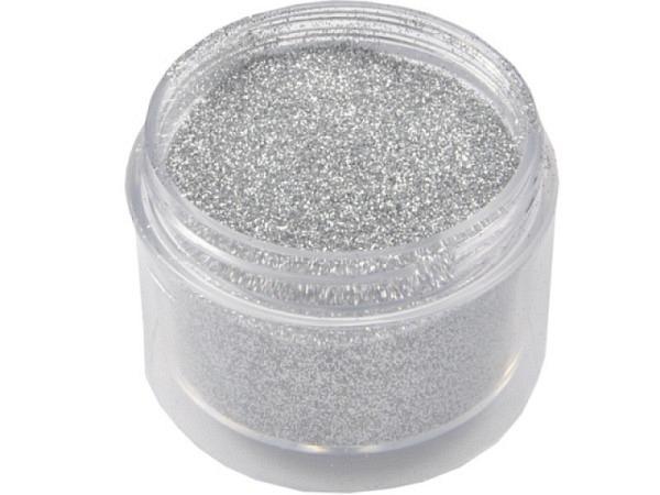 Glimmer silber in Dose 50g, mit Streuverschluss