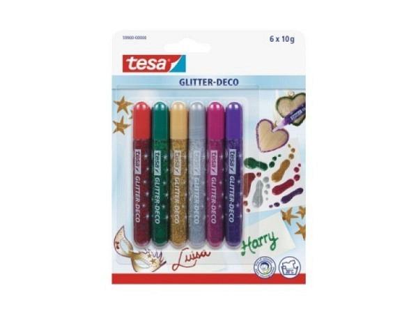 Glimmerleim Tesa Glitter Deco Brilliant Colors