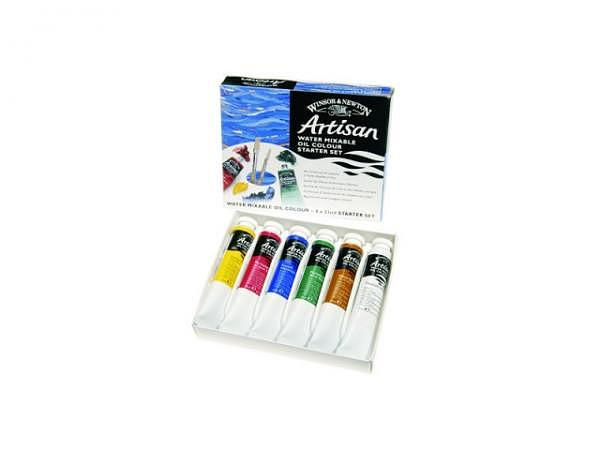 Oil Winsor Newton Artisan Set Starter Set 6x21ml