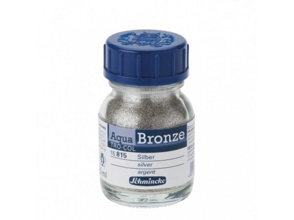 Pigment Schmincke Aqua-Bronzen silber 15815