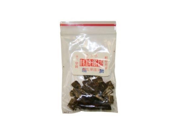 Tuschsteine China dunkelbraun ca. 5g, ideal auch für die Gongbimalerei