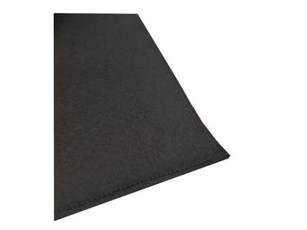 Unterlage schwarz klein aus Filz 47cmx68cm, zum Unterlegen